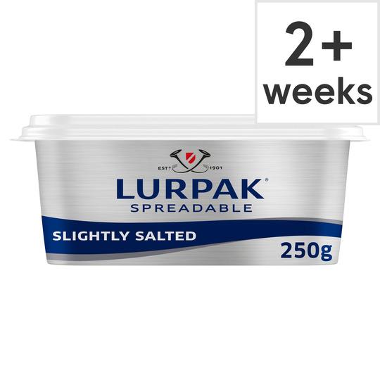 Lurpak Slightly Salted Spreadable 250G