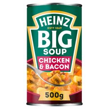 image 1 of Heinz Big Soup Chicken & Bacon 500G