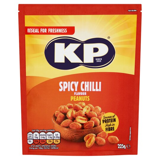 image 1 of Kp Chilli Peanuts 225G