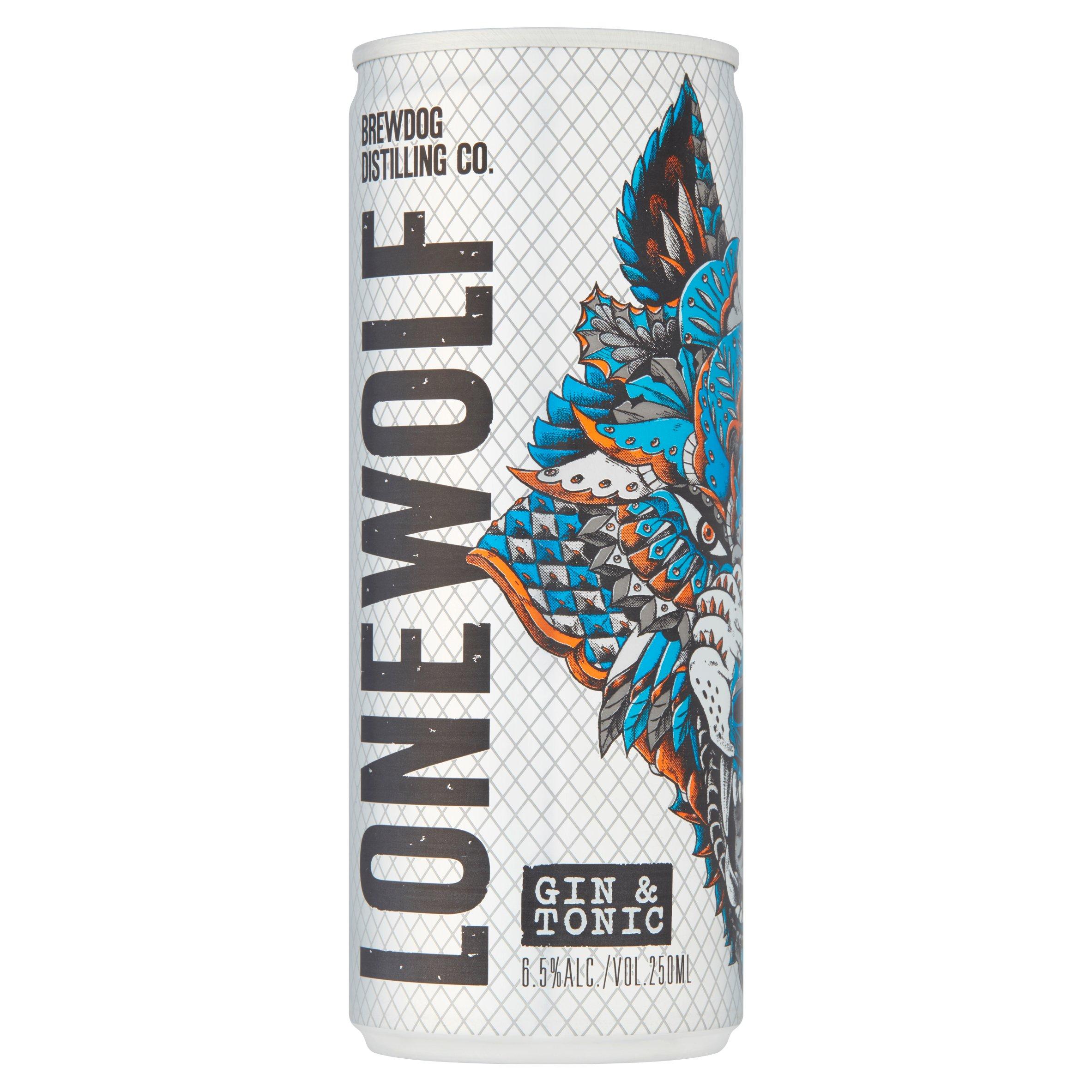 Brewdog Lonewolf Gin & Tonic 250Ml