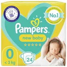 image 1 of Pampers New Baby Size 0 Carry Pack 24