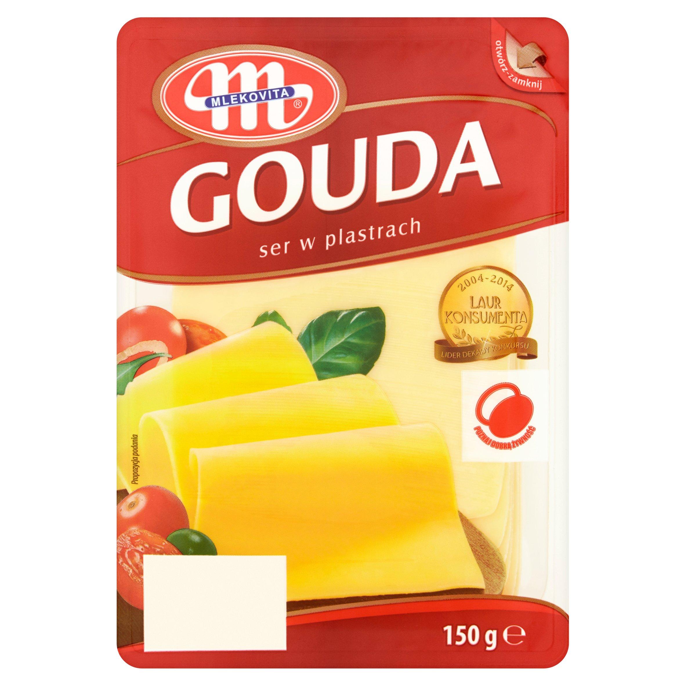 Mlekovita Gouda Polish Cheese Slices 150G