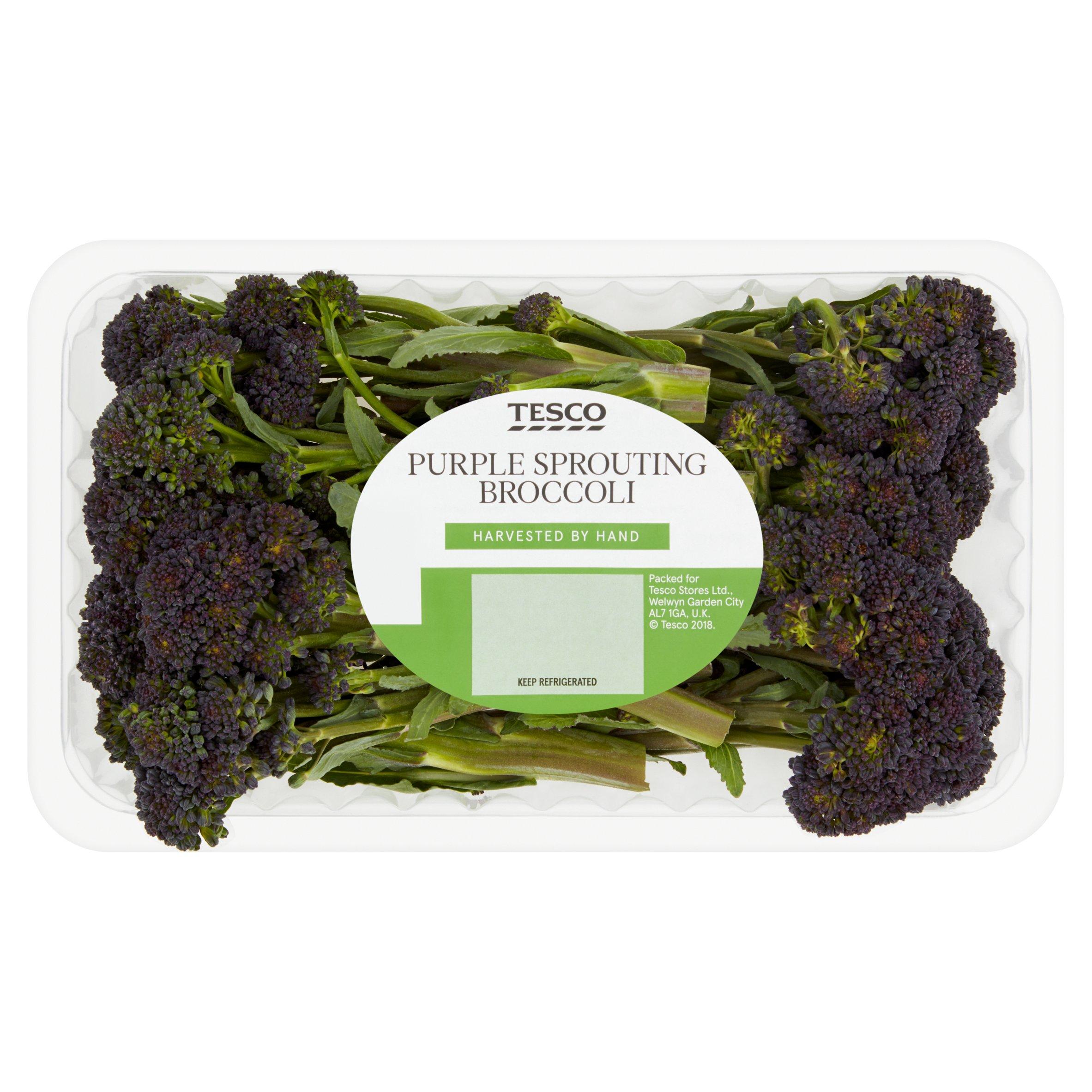 Tesco Purple Sprouting Broccoli 200G