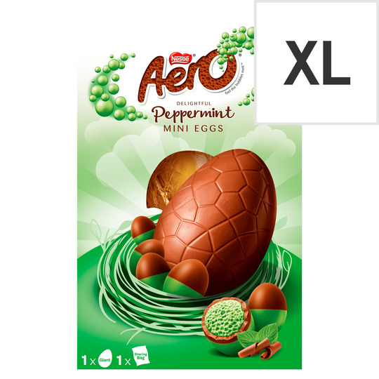 image 1 of Aero Bubble Peppermint Chocolate Giant Egg 270G