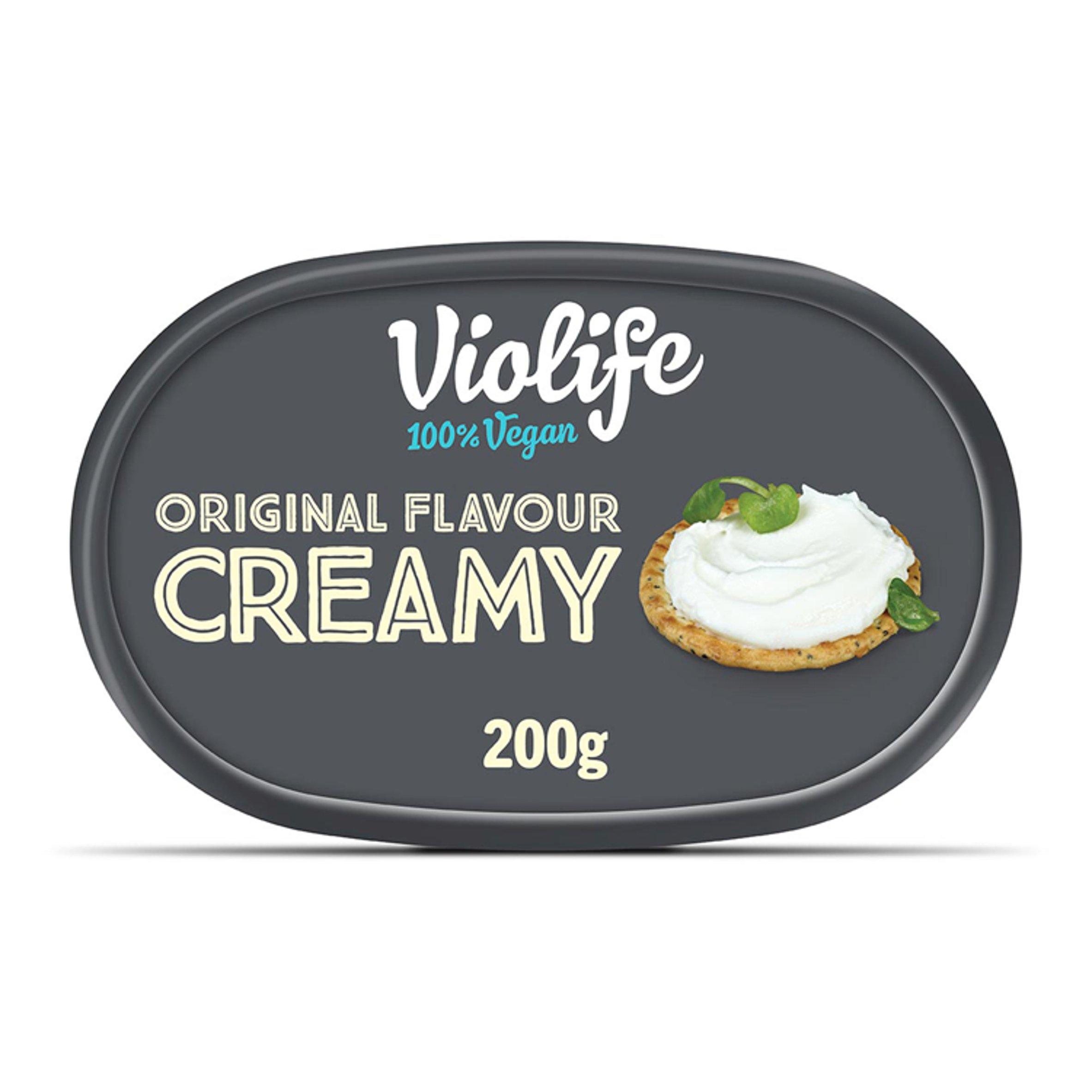 Violife Original Soft Cheese Dairy Alternative 200G