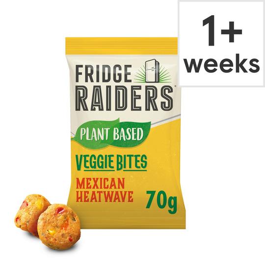 Fridge Raiders Mexican Heatwave Veggie Bites 70G