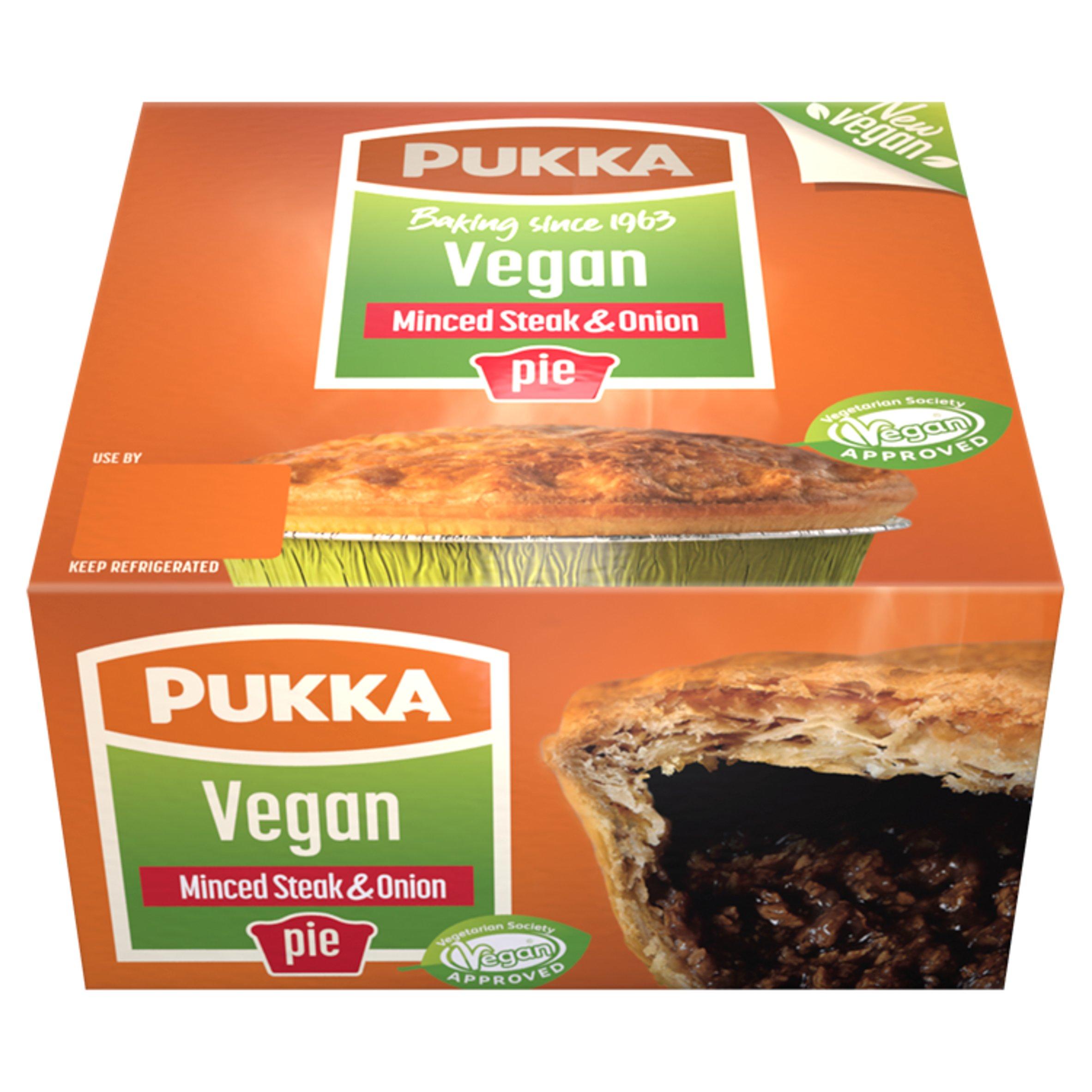 Pukka Vegan Minced Beef & Onion Pie