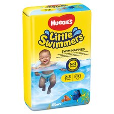 image 2 of Huggies Little Swimmers Size 2-3 3-8Kg 12 Pants