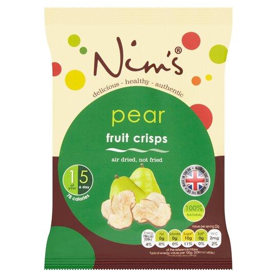 Nim's Air Dried Pear Crisps 22G