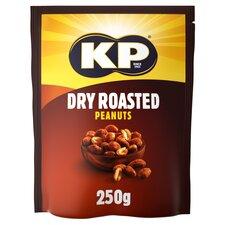 image 1 of Kp Dry Roasted Peanuts 250G