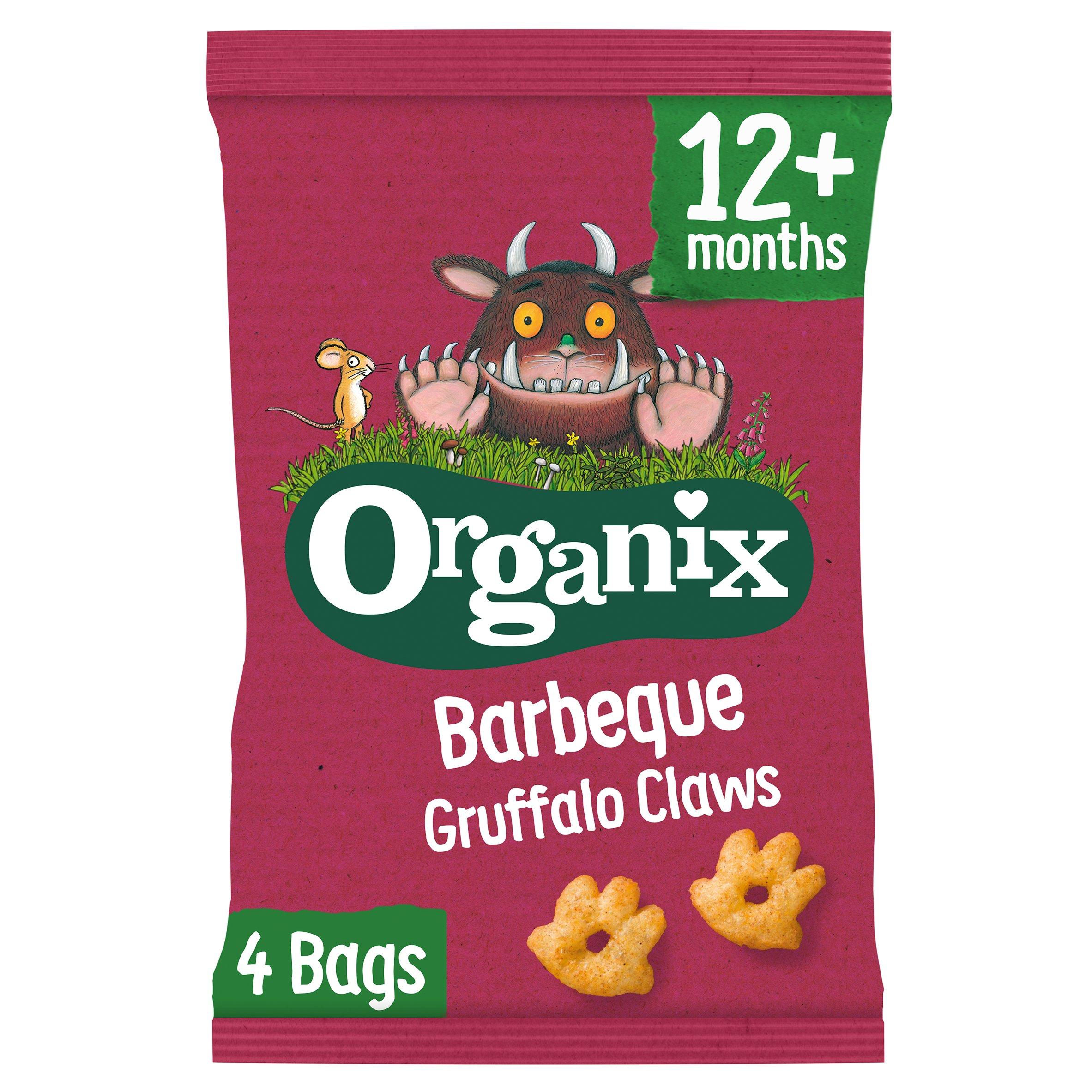 Organix Barbeque Gruffalo Claws 4X15g
