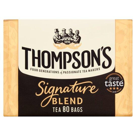 Thompson's Signature Tea Bags 80S 250G