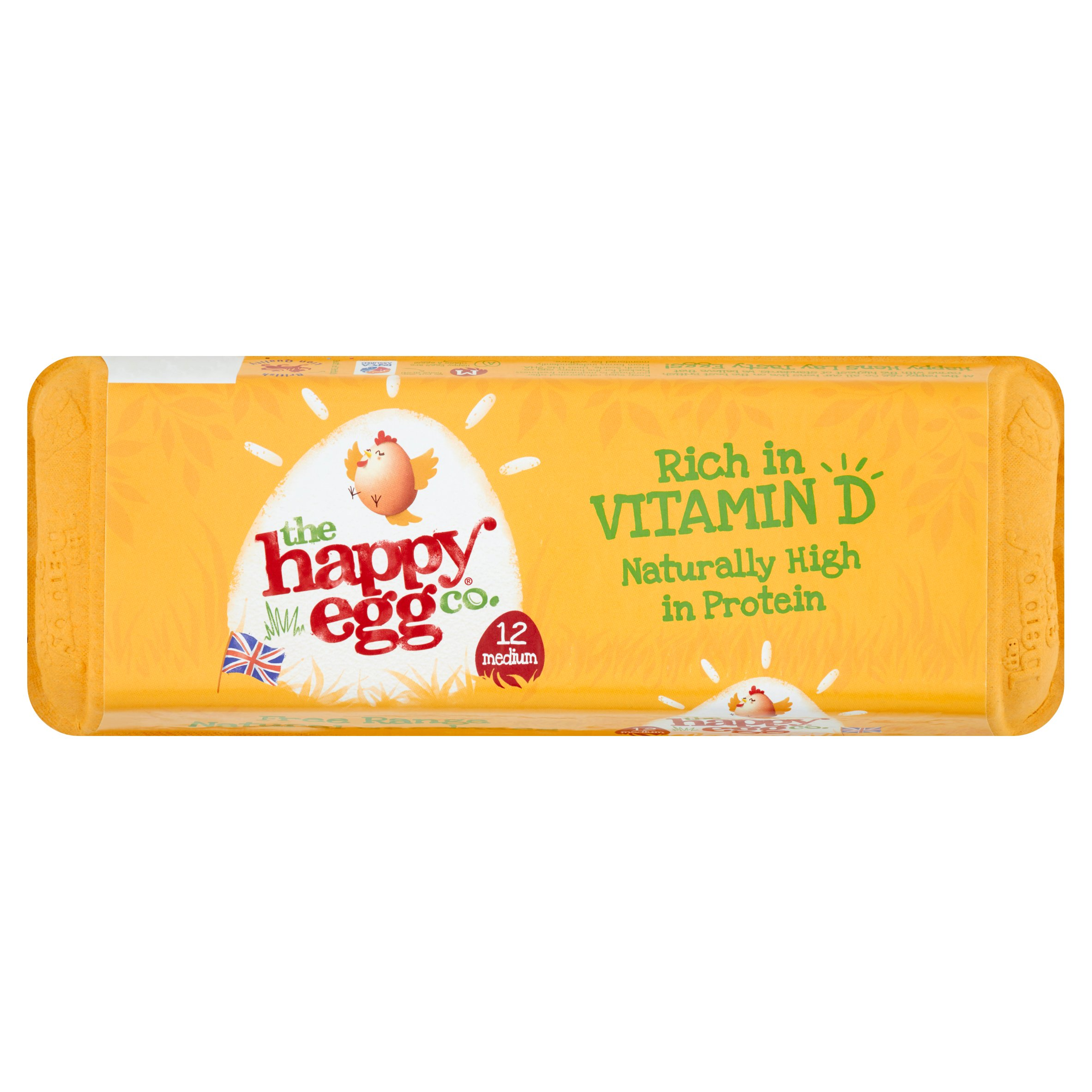 Happy Egg Co. Free Range Eggs 12 Medium