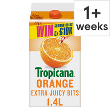 image 1 of Tropicana Extra Juicy Bits Orange Juice 1.4L