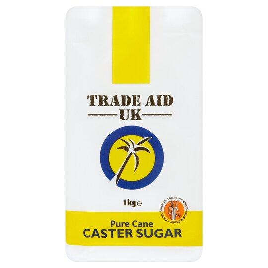 Trade Aid Uk Pure Cane Caster Sugar 1Kg