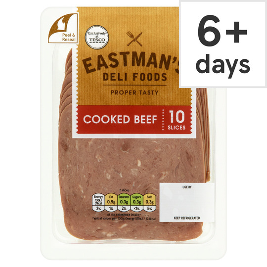 Eastman's Cooked Beef Slices 125G