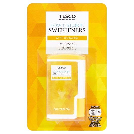 Tesco Sucralose Tablet Sweetener 300'S