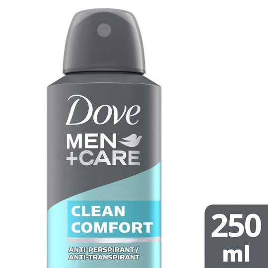 image 1 of Dove Men+Care Clean Comfort Antiperspirant Deodorant 250Ml