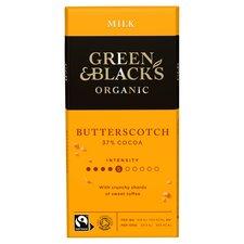 image 1 of Green & Blacks Butterscotch Chocolate 90G