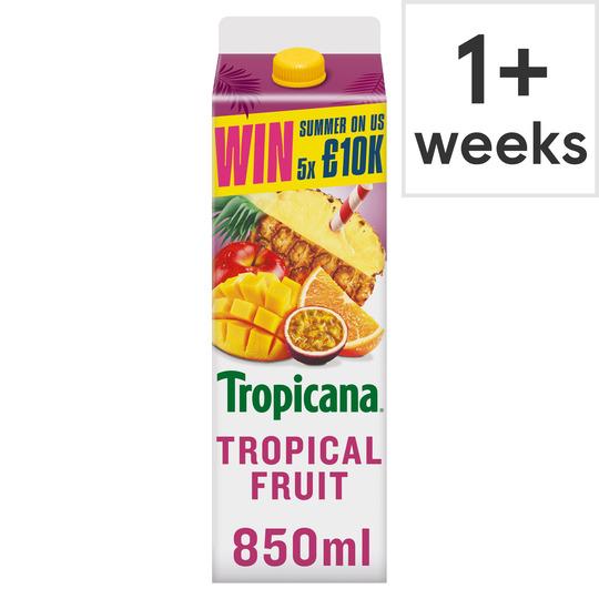 image 1 of Tropicana Tropical Juice 850Ml