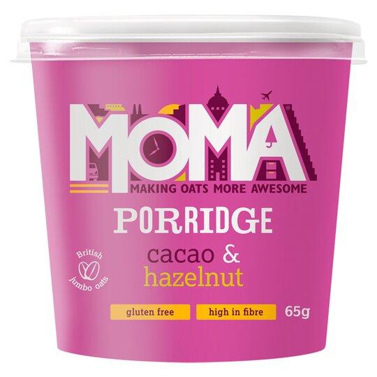 Moma Porridge Cacao & Hazelnut Pot 65G