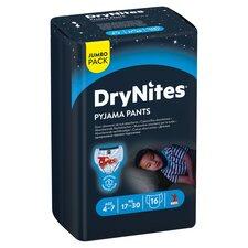 image 2 of Dry Nites Pyjama Pants Age 4-7 Blue Jumbo 16Pk