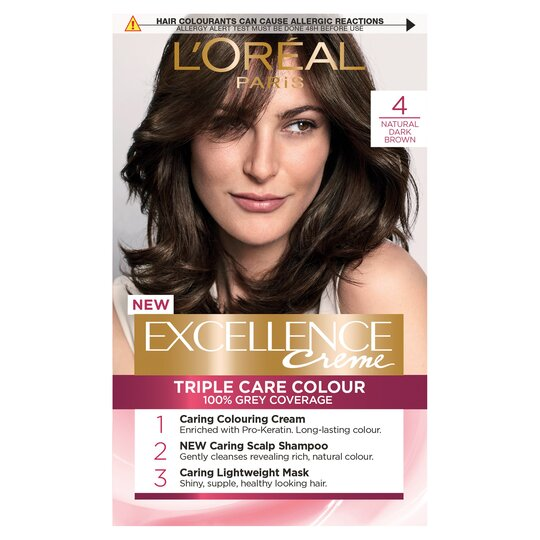 image 1 of L'oreal Paris Excellence 4 Dark Brown