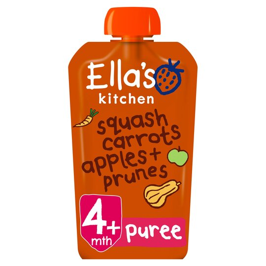 Ella's Kitchen Butternut Carrot Apple Prune 120G