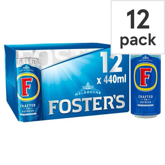 Fosters 12X440ml