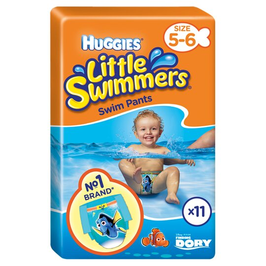 Huggies Little Swimmers Size 5-6 12-18Kg 11 Pants