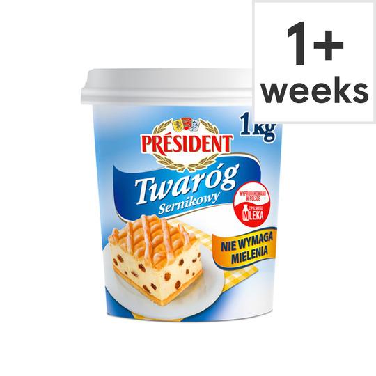 President Twarog Soft Cheese 1Kg