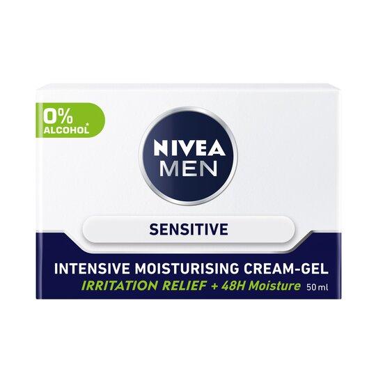 Nivea Men Sensitive Face Cream Intensive Moisturiser 50Ml