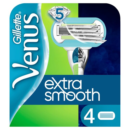 image 1 of Gillette Venus Extra Smooth Blades 4 Pack