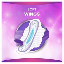 image 2 of Always Platinum Long Size 2 Sanitary Towels With Wings 10
