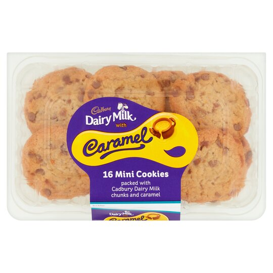 Cadbury Dairy Milk Caramel 16 Mini Cookies