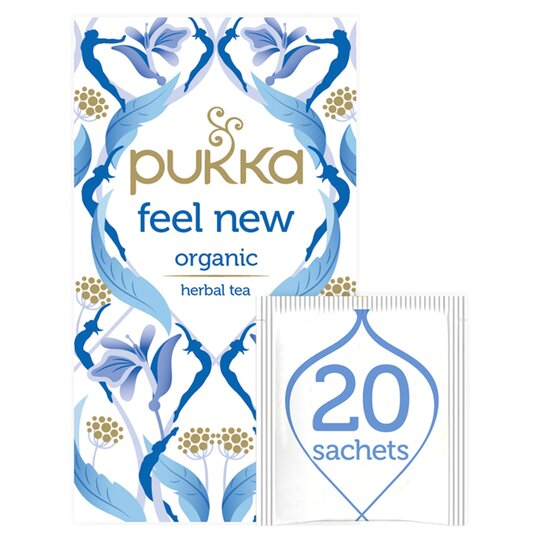 Pukka Feel New Herbal Tea 20S 40G
