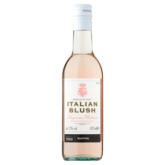 image 1 of Tesco Italian Rose Blush 187Ml
