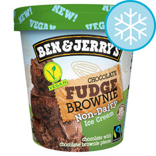 image 1 of Ben & Jerry's Non Dairy Chocolate Fudge Brownie Ice Cream 465Ml