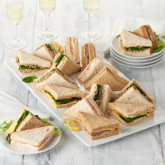 Tesco Finest Easy Entertaining Sandwich Platter 18 Pieces