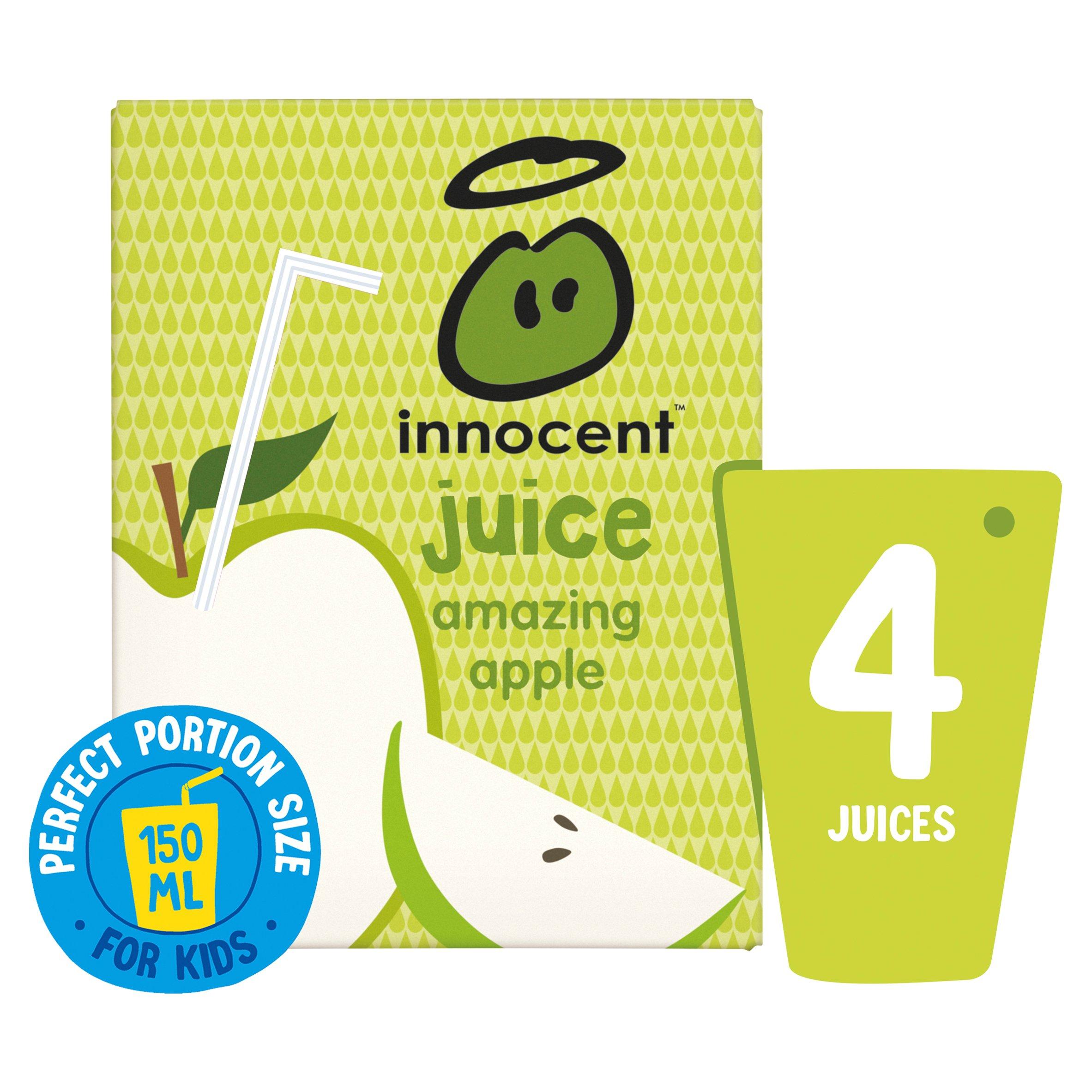 Innocent Kids Apple Juice 4X150ml