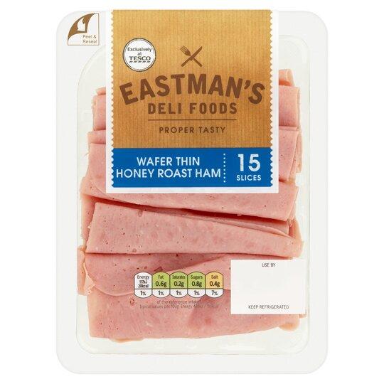 Eastman's Wafer Thin Honey Roast Ham 125G