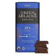 image 2 of Green & Blacks Organic Milk Chocolate 90G