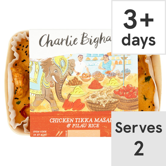 image 1 of Charlie Bigham's Chicken Tikka Masala 805G