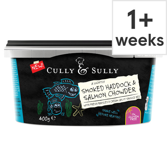 image 1 of Cully&Sully Smoked Haddock&Salmon Chowder 400G