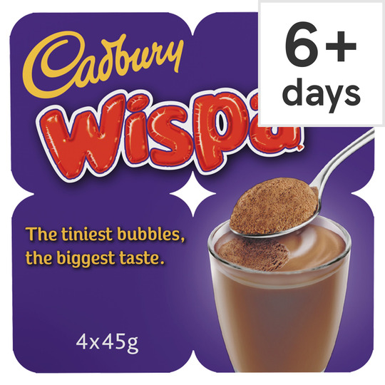 Cadbury Bubbles Of Joy Chocolate Mousse 4X45g