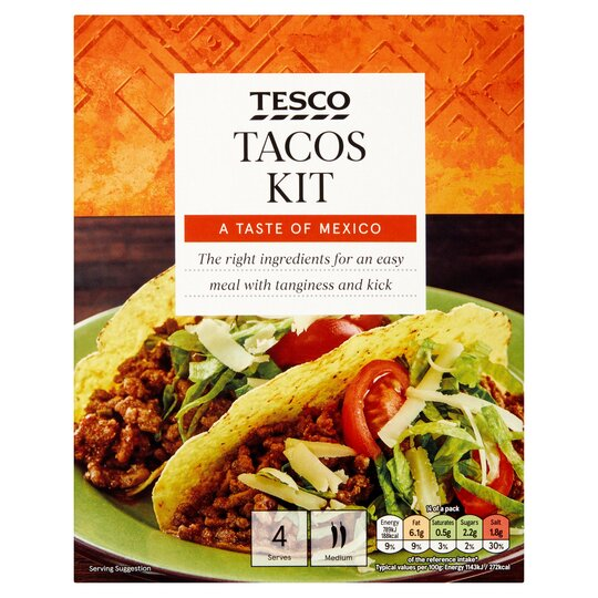 Tesco Taco Kit 275g Tesco Groceries