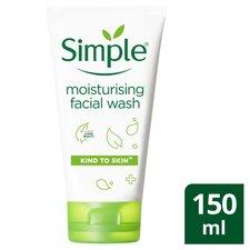 image 1 of Simple Kind To Skin Moisturising Facial Wash 150Ml