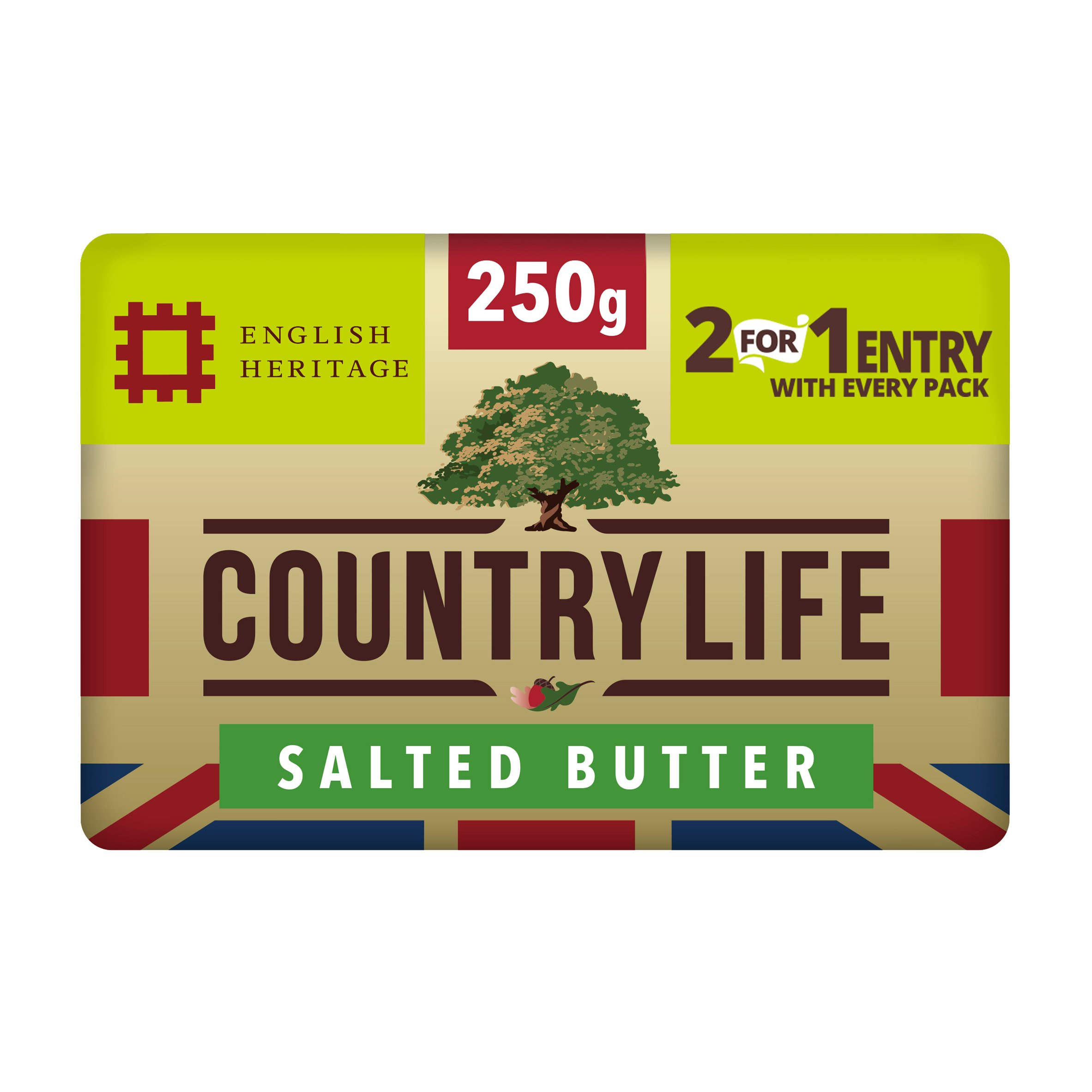 Country Life Original Block Butter 250G