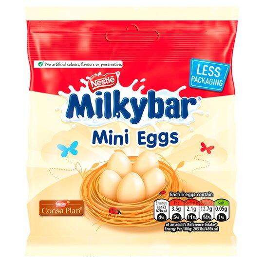 Milkbar White Chocolate Mini Eggs 80G