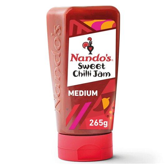 Nando's Sweet Chilli Jam Medium 285G
